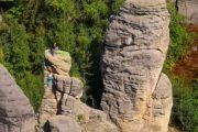 Cesky_raj-Bohemian_Paradise-Prachov rocks climbers