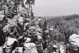 Bohemian Paradise winter